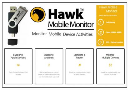 HAWK Mobile Monitor USB, 6 Months