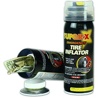 Emergency Tire Inflator Diversion Safe