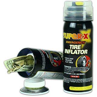 Emergency Tire Inflator Diversion Safe