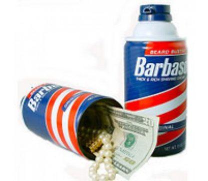 Barbasol Diversion Safe