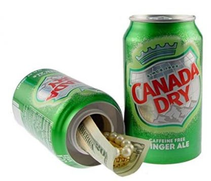 Canada Dry Ginger Ale Diversion Safe