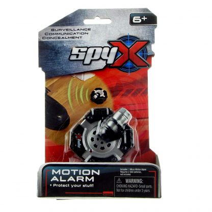 micro motion alarm spy toy