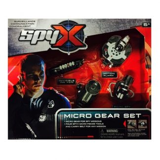 micro gear set spy toy