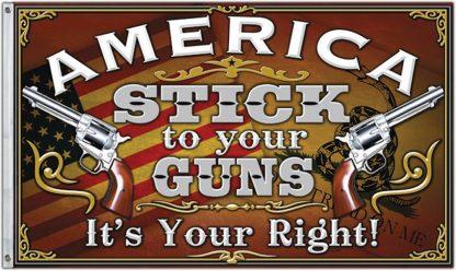 stick to your guns flag