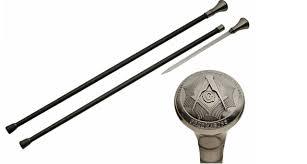 masonic sword cane