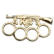AK 47 GUN KNUCKLE