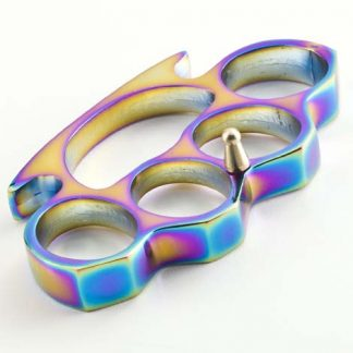 Rainbow Titanium Heavy Duty Buckle Paperweight