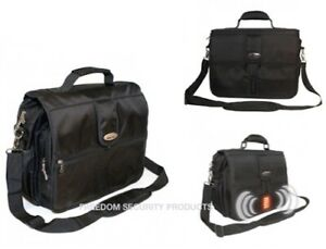 Streetwise iSAFE Bulletproof Laptop Bag w/Alarm