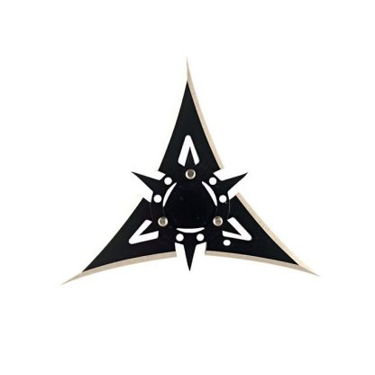 """4"""", 3 Point Black Throwing Star"""