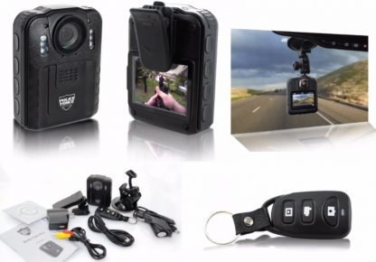 Police Force Tactical Body Camera Pro HD