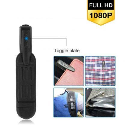 Pocket Clip Hidden Spy Camera with Built in DVR