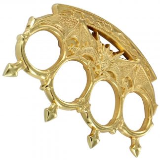 Dragons Inferno Knuckle Paperweight Gold