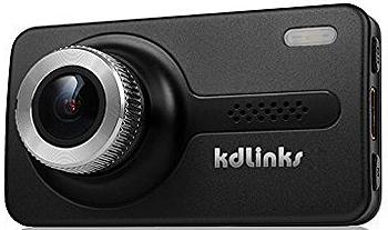 KDLINKS X1 Full 1080p HD Super-Wide Angle GPS Single Lens Dashcam