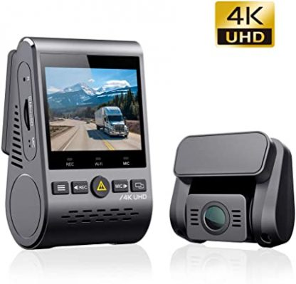 VIOFO A129 PRO Duo | 4K Front and Rear Dash Cam w/ GPS & WiFi
