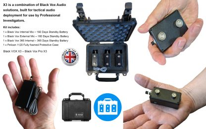 Black Vox Audio – X3