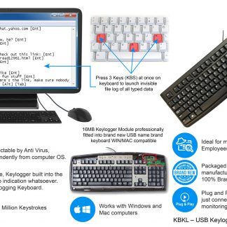 Keyboard built in Keylogger