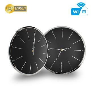 HD 1080P Wall Clock Wi-Fi Security Camera