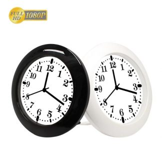 HD 1080P Wall/Desk Clock Wi-Fi Security Camera