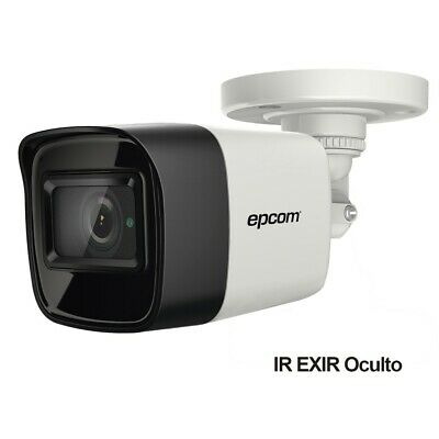 4K Bullet camera TURBOHD / 2.8 mm Lens / IR EXIR up to 30 mts / IP67 / 12 VDC / 4 Technologies (TVI / AHD / CVI / CVBS)