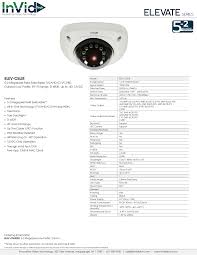 ELEV-C5LIR: 5-2 Megapixel Low Profile, Fixed Lens
