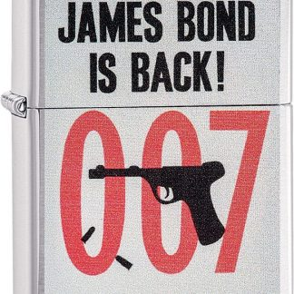 James Bond Is Back
