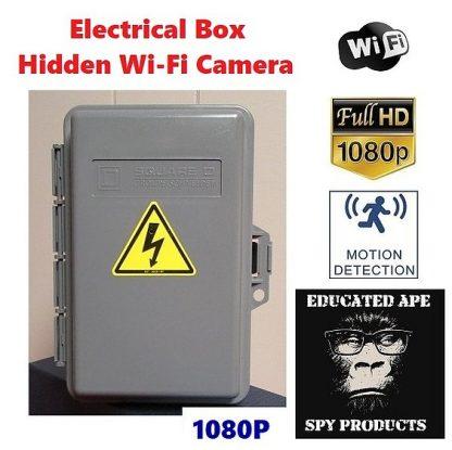 Electrical Box Hidden Camera Wi-Fi