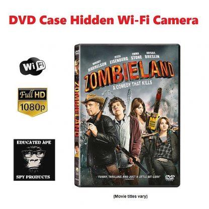 DVD Case Hidden Wi-Fi Camera