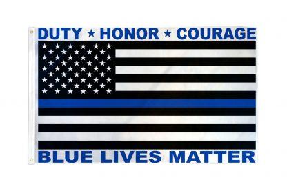 Blue Lives Matter Flag 3x5ft