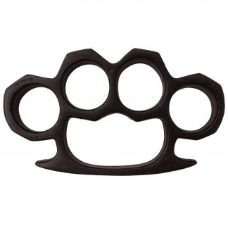 4.5 Inch Long Steel Knuckle Duster Black