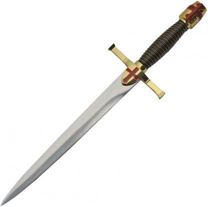 Gold Crusader Dagger