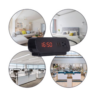 HD 1080P Smart Home Security Clock WiFi Hidden Camera