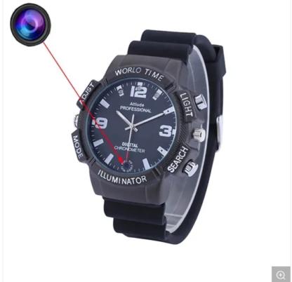 16g Smart Watch 4K Sport Bracelet Camera WiFi P2p Night Vision Car Video Recorder WiFi Watch IP Live Views Wrist Hide Camera (wc101)