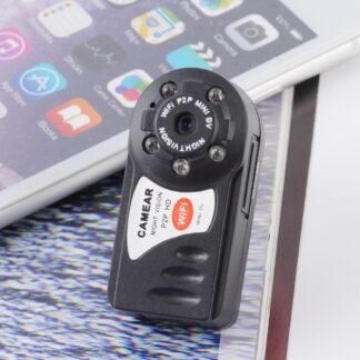 Wireless WiFi Internet Remote Monitor Camera Mini P2p DV Video Recorder DVR Night Vision Q7 (wc002q8e)