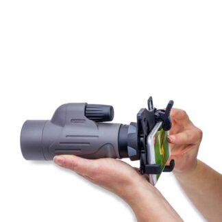 MonoPix™ Smartphone Digiscoping Adapter Bundle with 8x42mm Waterproof Monocular